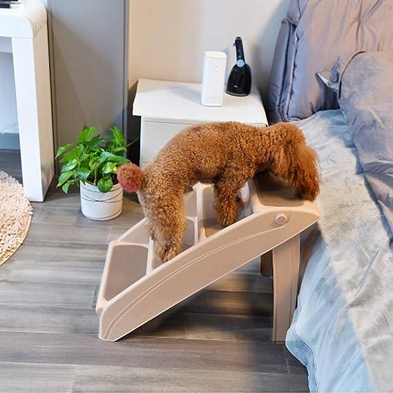 Eono by Amazon Escaleras plegables para perros y gatos domésticos: Amazon.es: Productos para mascotas