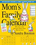 Mom's Family 2012 Wall Calendar