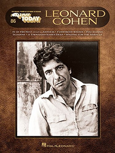 Download Leonard Cohen: E-Z Play Today #86 pdf epub