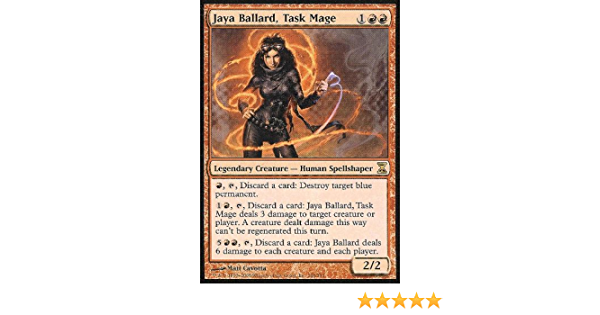 Magic Card Time Spiral MTG: Jaya Ballard Task Mage
