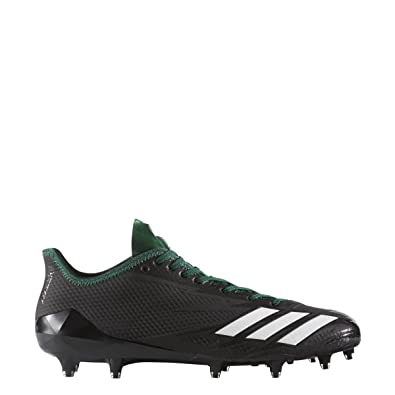 Amazon.com | adidas Adizero 5Star 6.0 Cleat Men's Football 18 Black-White-Dark  Green | Football