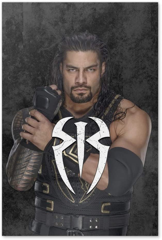 GRAPHICS & MORE WWE Roman Reigns Locked and Loaded Home Business Office Sign