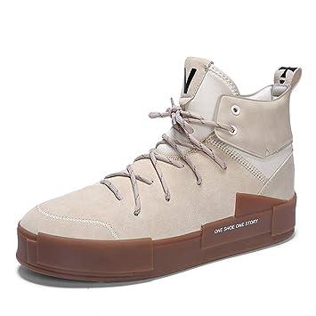 a28874b3647f7 GLSHI Zapatillas de Deporte de Moda para Hombre Otoño Invierno Hip Hop  Zapatillas de Baile Callejero