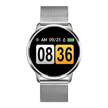 HNLZGL Q8 Schermo a Colori Smart Watch Donna orologio Smartwatch ...