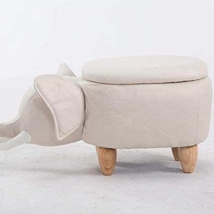 Amazoncom Zhige Storage Seatcreative Baby Elephant Wooden Bench
