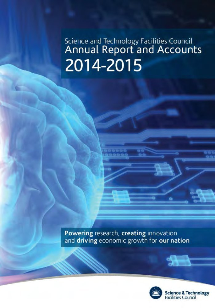 Download Science and Technology Facilities Council annual report and accounts 2014-15 (House of Commons Papers) ebook