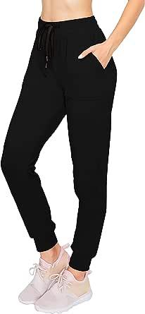 Always Women Fleece Jogger Pants - Winter Soft Sweatpants with Pockets