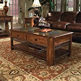 Slate Coffee Table Magnussen Madison Wood Rectangular Lift Top Cocktail Table