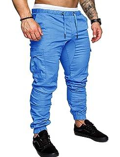 Deporte Pantalones Pants Algodón Casuales Joggers Chino De Hombre ZXOPkTiu