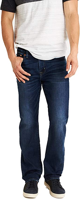 Amazon Com American Eagle Pantalones Vaqueros Para Hombre Diseno De Indigo Oscuro 44 Cintura X 32 Largo Clothing