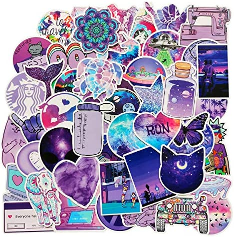 Flash Vine Stickers Laptop Water Bottle Luggage Snowboard Bicycle Skateboard Decal for Kids Teens Adult Waterproof Aesthetic Stickers 67pcs Flash Sweet Water Bottle Cute Vine Stickers