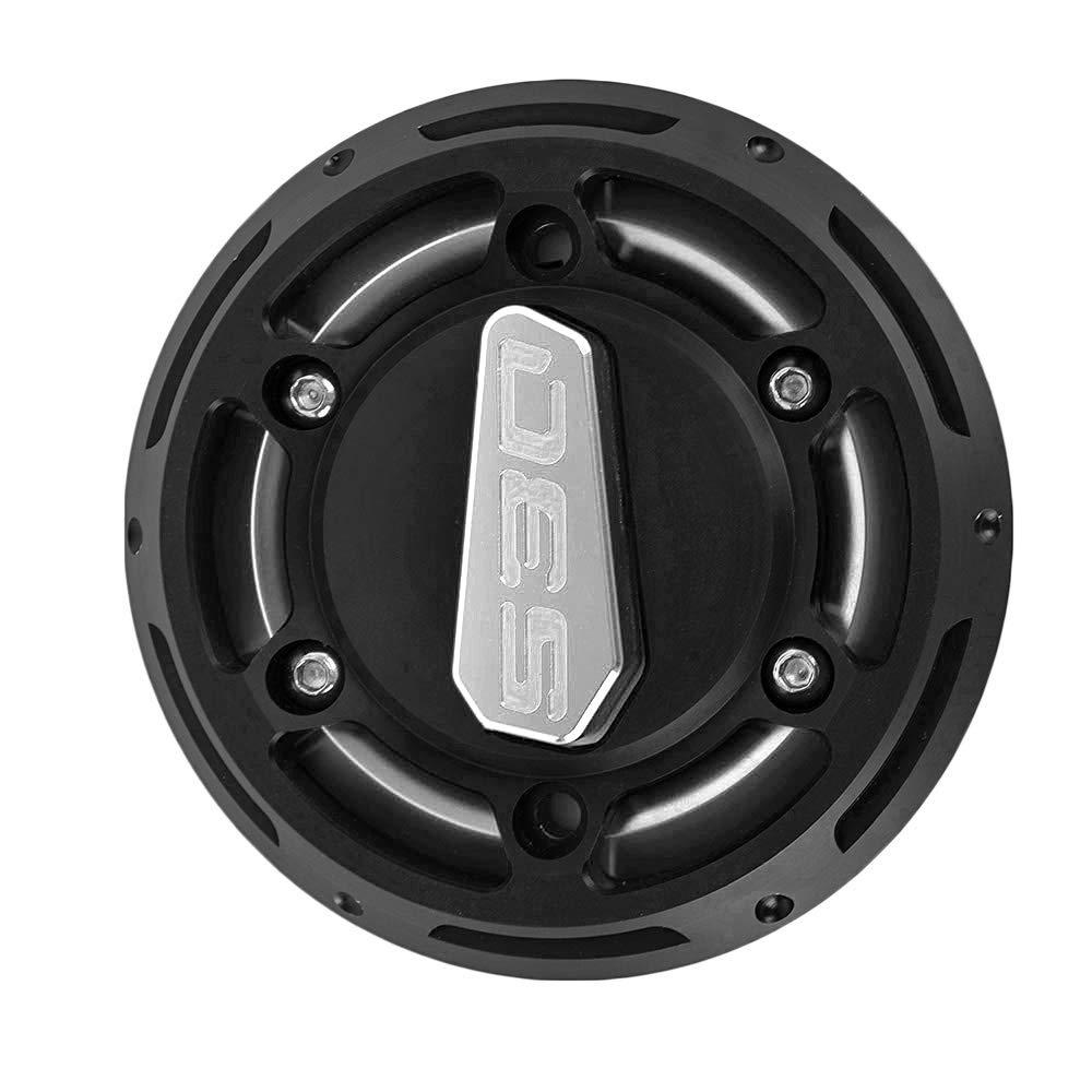 pour Yamaha Tmax 530 2012-2016 CNC aluminium et POM Argent Housse de protection du moteur de moto