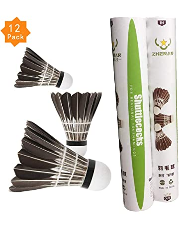 3pcs Game Sport Training White Duck Feather Shuttlecocks Badminton Ball@PL Badminton Bälle