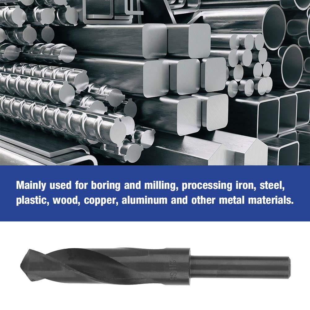Broca helicoidal de v/ástago redondo 1//2 madera cobre y otros materiales met/álicos 20.5mm acero procesar hierro brocas de fresado de acero 9341 de alta velocidad para taladrar y fresar