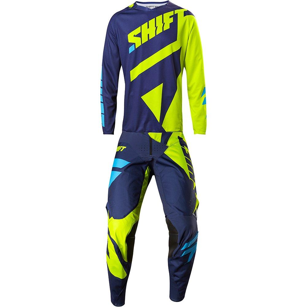 SHIFTMX Shift MX 2017 Black Label Mainline Yellow Jersey/Pant Combo - Size LARGE/34W