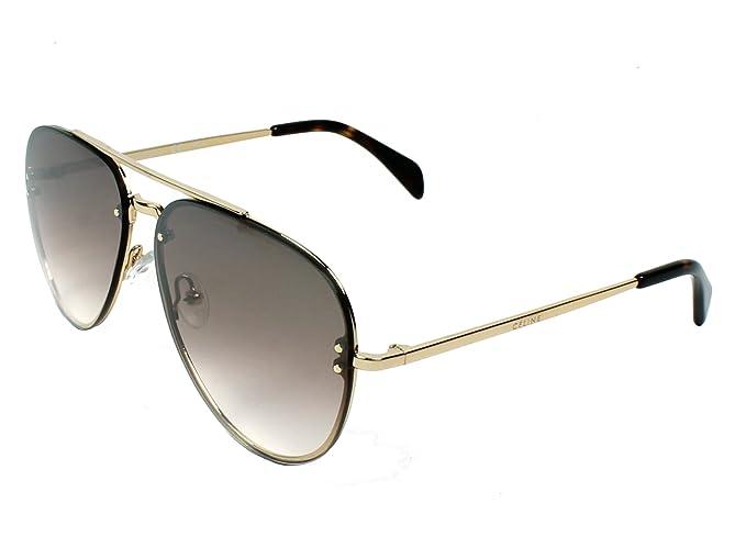 Celine J5G 58N5, Gafas de Sol Unisex, Gold, 58: Amazon.es ...