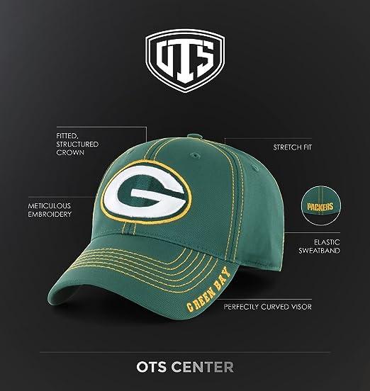 4a5abfdb850 Amazon.com   OTS NHL Adult Men s NHL Wilder Center Stretch Fit Hat   Sports    Outdoors