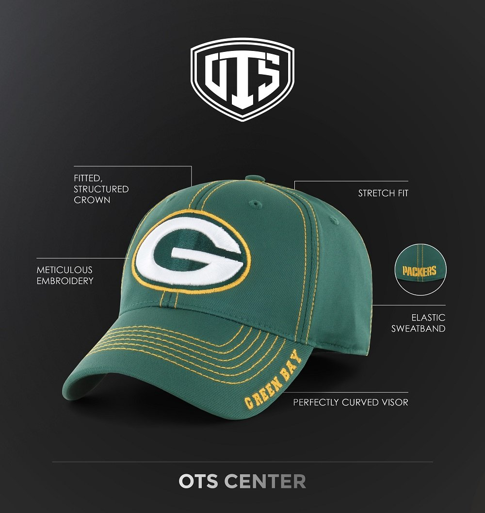 NFL Men's OTS Start Line Center Stretch Fit Hat 3