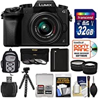 Panasonic Lumix DMC-G7 4K Wi-Fi Digital Camera & 14-42mm Lens (Black) with 32GB Card + Backpack + Battery + Flex Tripod + Filters + Tele/Wide Lens Kit Review Review Image