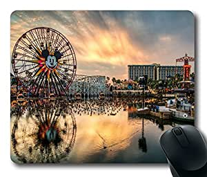 Design California Adventure Mouse Pad Desktop Laptop Mousepads Comfortable Office Mouse Pad Mat Cute Gaming Mouse Pad by Maris's Diary
