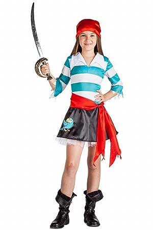 Disfraz 9 esJuguetes Niña7 Pirata Y Juegos AñosAmazon De Loro WHIE92YD