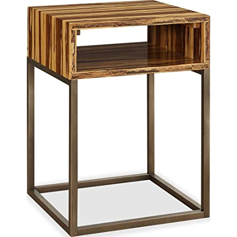 Greenington Toronto Solid Tiger Bamboo End Table