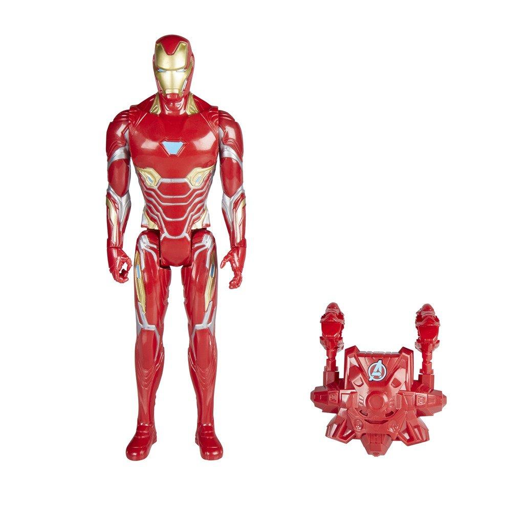 Marvel Avengers Titan And Backpack Power FX Iron Man (Hasbro ...