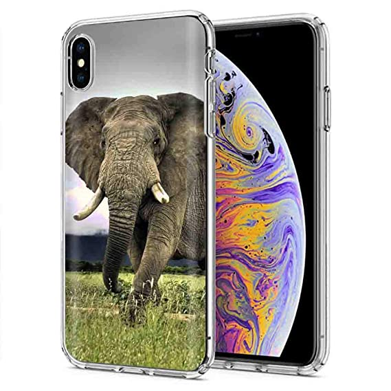 72866375d6c11 Amazon.com: iPhone Xs MAX [NakedShield] Slim Flex Gel Skin Case for ...