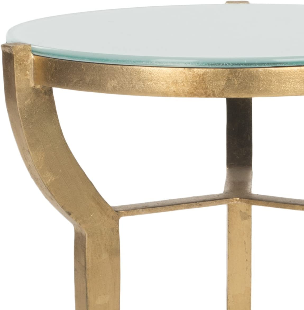 Safavieh Suri Akzenttisch, Metall, Gold, 41 x 41 x 52.07 cm Gold