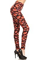 Leggings Depot Women's Ultra Soft Popular Best Printed Fashion Leggings BAT8