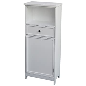 white wooden bathroom furniture. top home solutions white wooden bathroom cabinet organiser unit 1 drawer cupboard storage shelf bedroom furniture