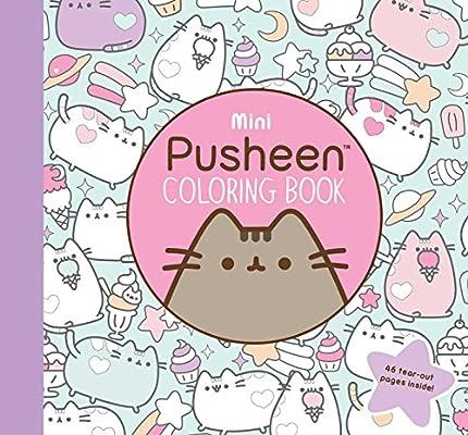 - Mini Pusheen Coloring Book (A Pusheen Book) (9781501180972): Belton,  Claire: Books - Amazon.com