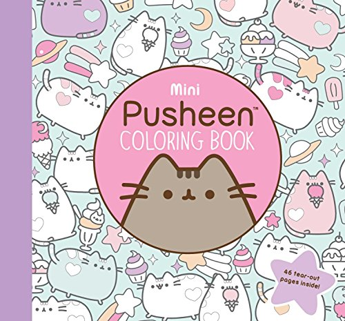 Mini Pusheen Coloring Book (A Pusheen Book)