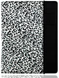 splash RAINDROP Case for The New iPad 3 3rd Gen and iPad 2 with Glider Stylus and Masque Screen Protector, Leopard Print Black (IPD3RDRPCTBLK)