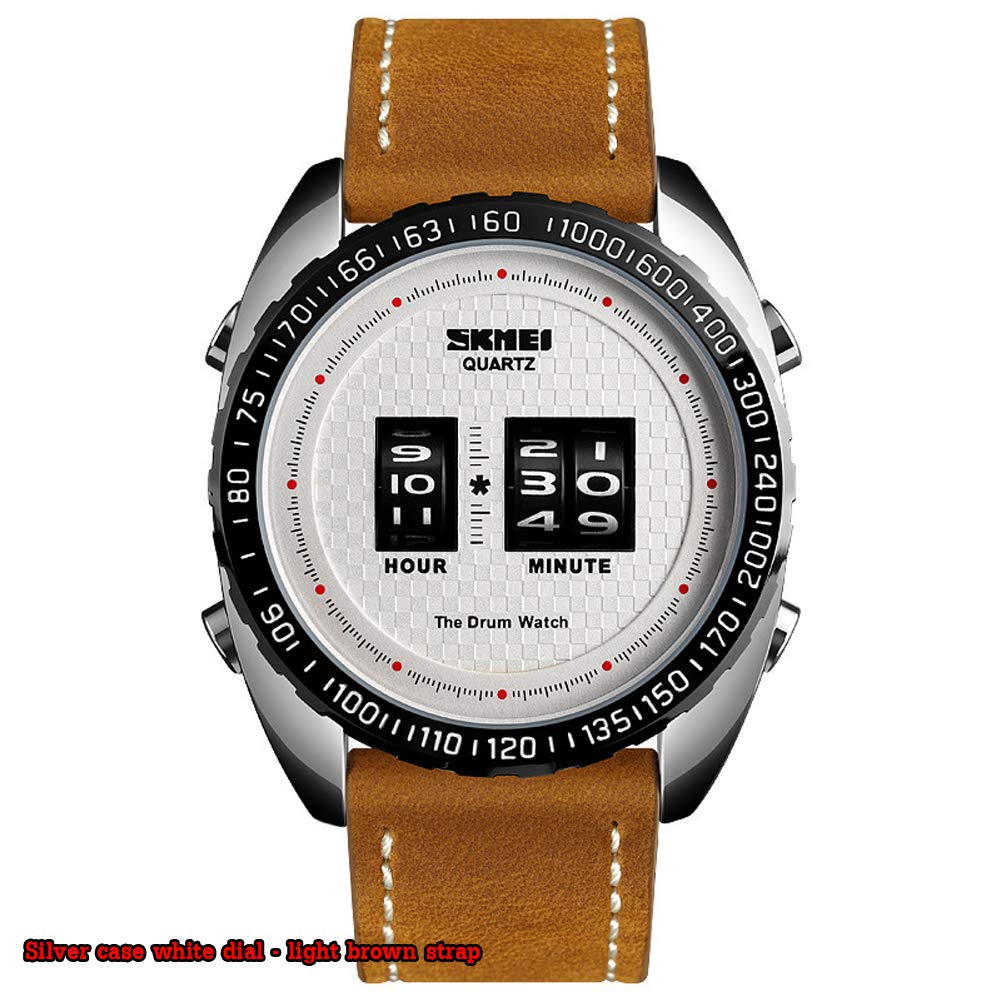 SPORS Belt Men's Casual Watch, Roller Quartz Watch, Sports Versatile Watch, Multi-Function Men's Watch-1 by SPORS