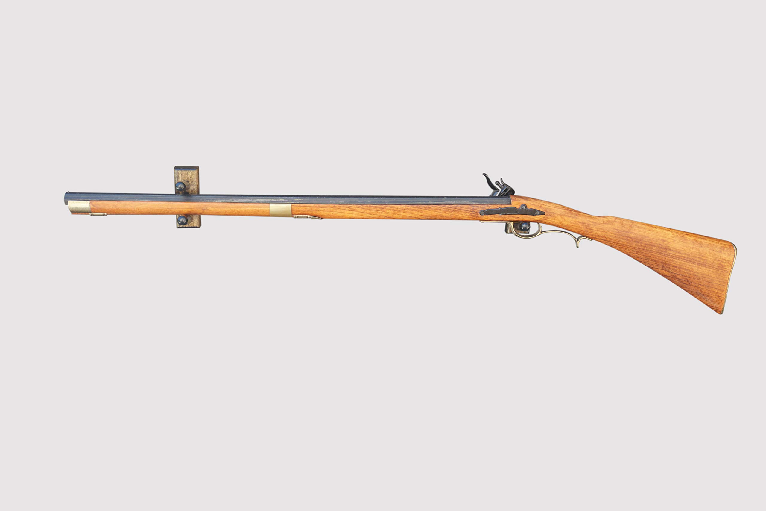 Horizontal Wall Mount for an Antique Rifle (Made in the USA) (Aged) by KR Ideas