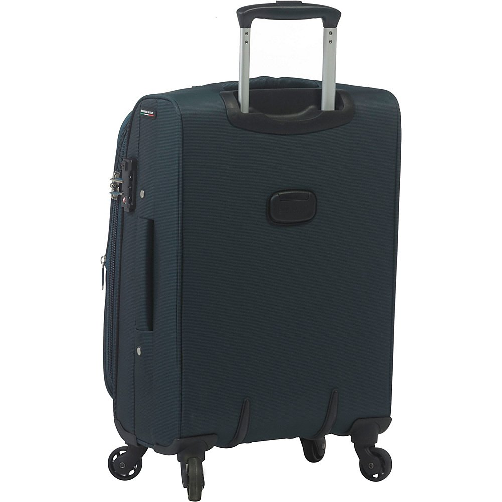Mia Toro Corvara Softside Spinner Luggage 3 Piece Set Black Mia Toro Luggage M1100-03PC-BLK