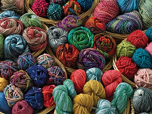 Cobble Hill Balls of Yarn Colorful Collection 500 Piece Jigsaw Puzzle (52062)