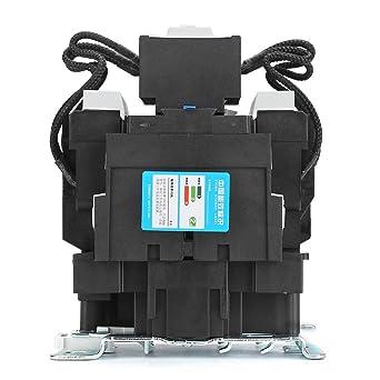 3 Pole Contactor Coil Contactor AC Capacitor ContactorContactor CJ19-95//21 95A 50Kvar Air Conditioner Contactor Condenser Switch-Over Capacitor Duty Contactor