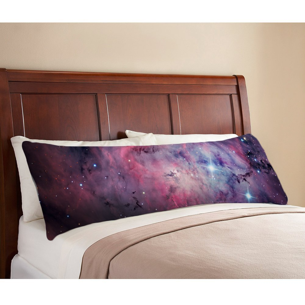 20/x 137/cm Xanthe88Eliot Space Nebula Universe Muster Retro Galaxy Tribal Maschinenwaschbar seidig gl/änzender Satin Deko K/örper Kissen Schutzh/ülle