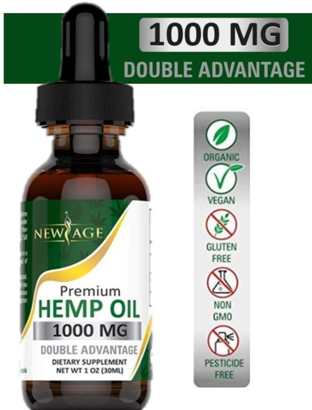 Amazon com: Hemp Oil Extract for Pain & Stress Relief