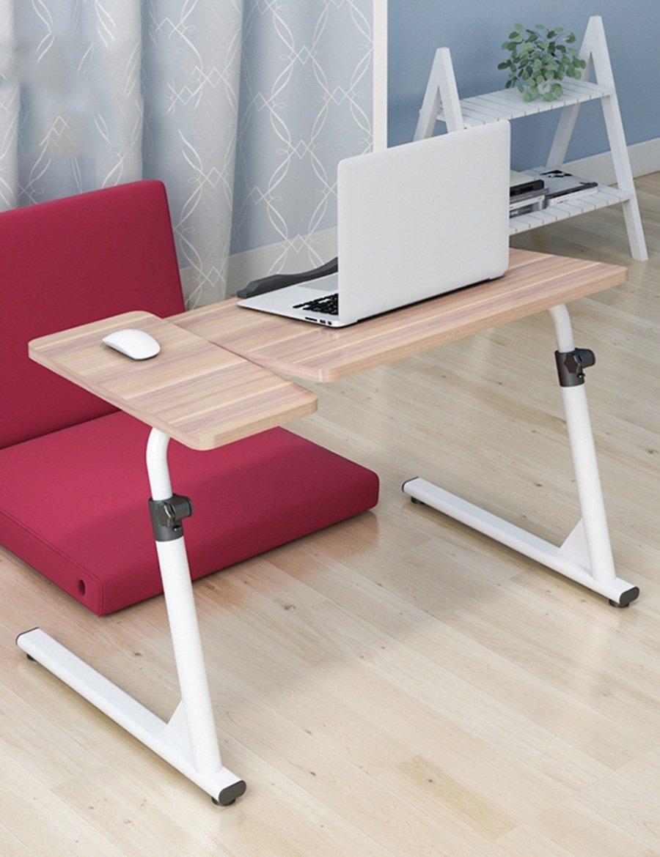 FEIFEI ウッドベースのパネルは、折り畳み式ベッドサイドラップトップデスクラーニングデスク (色 : 3, サイズ さいず : 80センチメートル) B07FJ78V443 80センチメートル