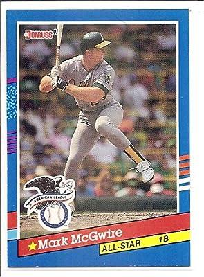 Mark Mcgwire Oakland Athletics 1991 Donruss All Star Baseball Card