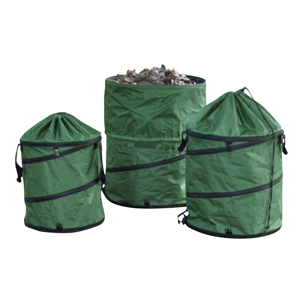 ガーデンバック 3個セット Sサイズ約57L Mサイズ約95L Lサイズ約170L B01IPSIDTI