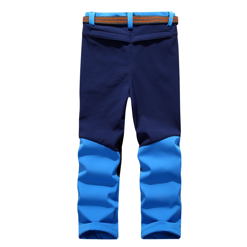 f2a53ca5122 Waterproof Warm Hiking Pants Ski Pants Quick Dry Outdoor Climbing Trousers  Breathable Lightweight for Children  Amazon.co.uk  Sports   Outdoors