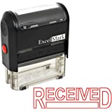 RECEIVED Self-Inking Rubber Stamp - (ExcelMark A1539-Red Ink)