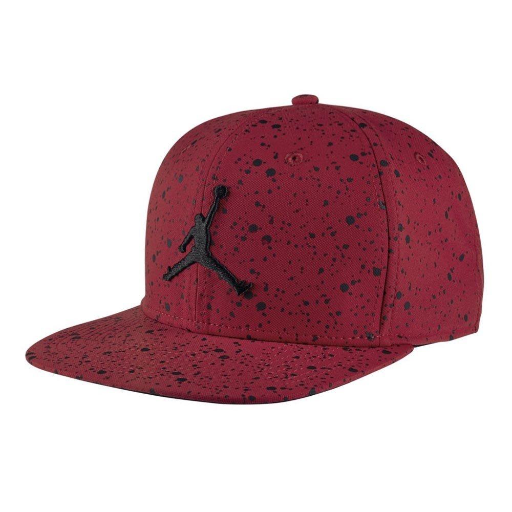 2dde2dc38 Galleon - Nike Mens Jordan Speckle Print Snapback Hat Gym Red/Black ...
