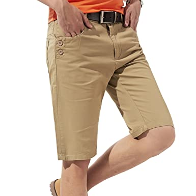 Weatherproof Garment Company Mens Cotton Cargo Shorts KHAKI TAN NEW!!!