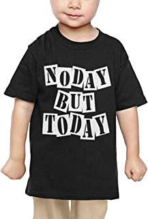 No Day But Today Baby Toddler Short Sleeve Crewneck Cotton Tshit