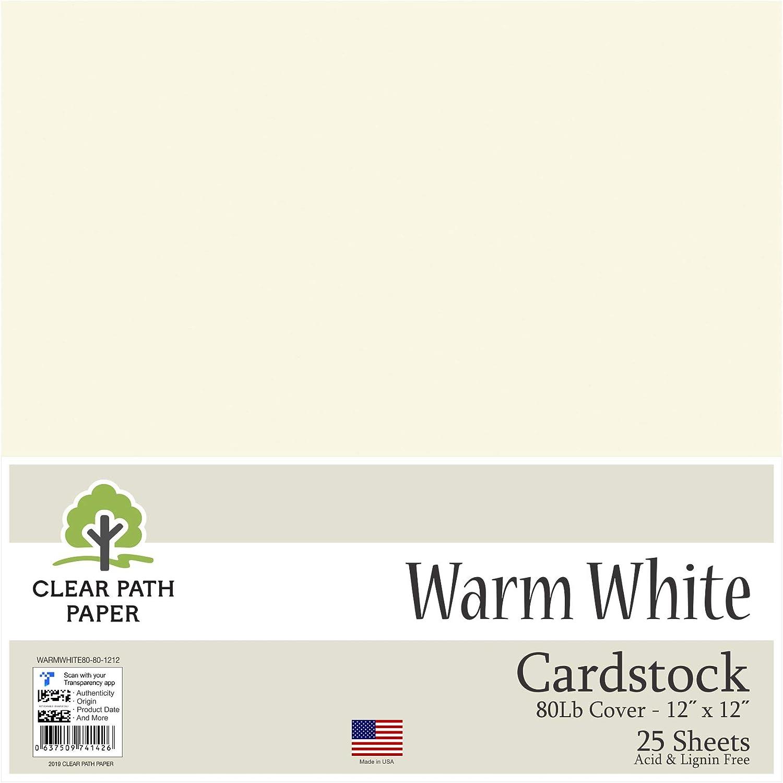 Luz blanca cálida – Cartulina de 12 x 12 pulgadas – 80LB Cover: Amazon.es: Juguetes y juegos